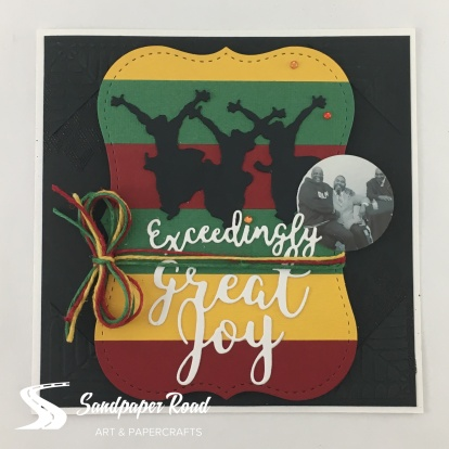 with logo.from.above.exceedingly.great.joy.card
