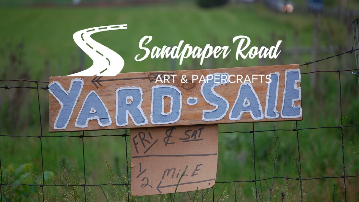 YARD SALE - Sandpaper Road